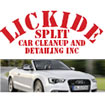 Lickide Split Car Cleanup and Detailing Inc. Logo