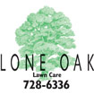 Lone Oak Lawn Care Logo