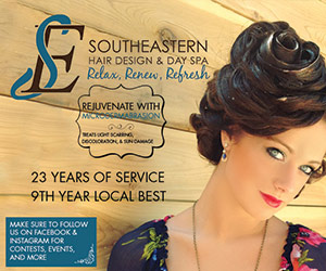 Southeastern Hair Design & Day Spa. Relax, Renew, Refresh. Rejuvenate with Microdermabrasion. Treats light scarring, discoloration & sun damage. 23 years of service, 9th year Local Best. Make sure to follow us on Facebook & Instagram for Contests, Events, and More!
