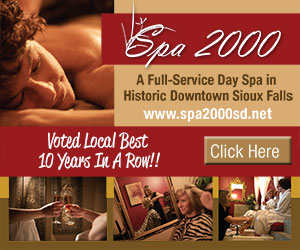 Thank you for voting us #1 Day Spa for the 9th year. Spa 2000. A Full-Service Day Spa in Historic Downtown Sioux Falls. www.spa2000sd.net. Click Here