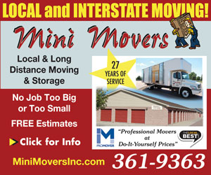 Mini Movers - Local and Interstate Moving! Local & Long Distance Moving & Storage. 24 Years of Service. No Job Too Big or Too Small. FREE Estimates. Click for info. MiniMoversInc.com, 361-9363.