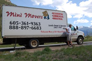 Mini Movers truck