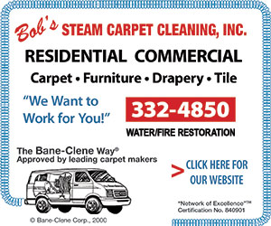 Bob's Steam Carpet Cleaning, Inc. Sioux Falls, SD