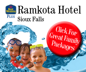 Best Western Plus Ramkota Hotel, Sioux Falls. Click for great family packages.