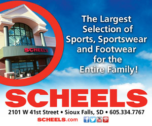 The Largest Selection of Sports, Sportswear and Footwear for the Entire Family! SCHEELS - 2101 W 41st Street, Sioux Falls, SD - 605.334.7767