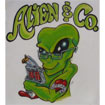 Alien & Co. Tattooing and Piercing Logo