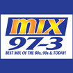 Ben & Patty - MIX 97.3 Logo