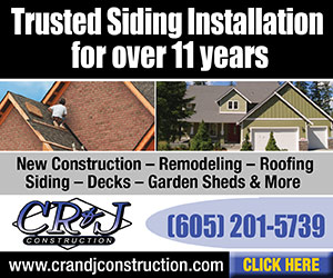 Trusted Siding Installation for over 11 years. CR&J Construction. New Construction, Remodeling, Roofing, Siding, Decks, Garden Sheds, & More. www.cranjconstruction.com. Ph: 605-201-5739. Click Here.