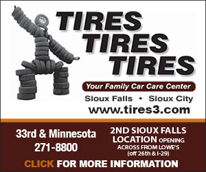 Tires Tires Tires. Your Family Car Care Center. Sioux Falls, Sioux City. www.tires3.com. Voted #1 in Tires. 33rd & Minnesota, 271-8800. Click For More Information.