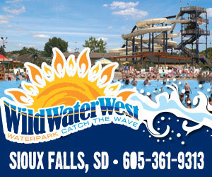 Wild Water West Waterpark - Catch the Wave. Sioux Falls, SD, 605-361-9313.