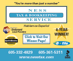Ness Tax & Bookkeeping Service.