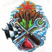 Extraordinaire Handyman Logo
