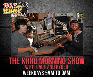 103.7 KRRO - Rock On. The KRRO Morning Show with Cade and Ryder - Weekdays 5AM to 9AM.