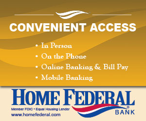 Convenient Access. In person, on the phone, online banking & bill pay, mobile banking. Home Federal Bank. Member FDIC. Equal Housing Lender. www.homefederal.com