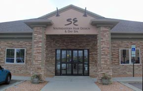 Southeastern Hair Design & Day Spa building