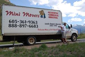 Mini Movers truck