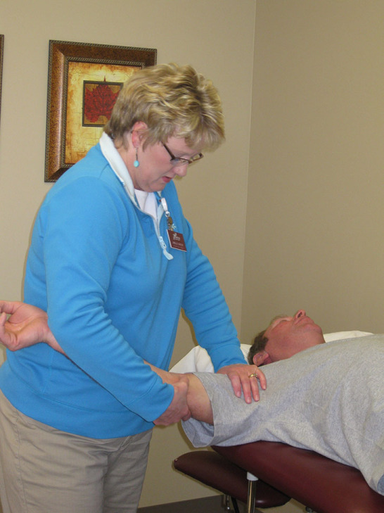 Nurse Providing Rehabilitation