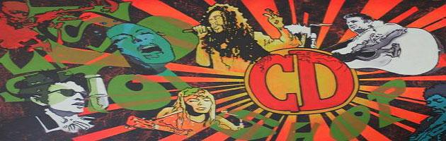 Last Stop CD Shop mural