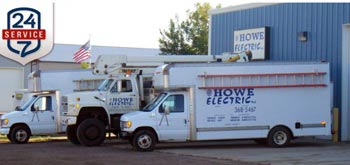 Howe Electric truck
