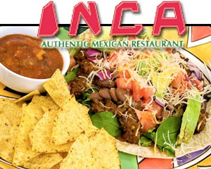 Inca Mexican Restaurant meal