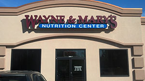 Wayne & Mary's Nutrition Center exterior
