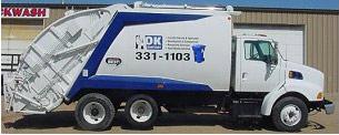 A-OK Sanitary truck