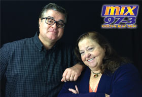 Ben & Patty on MIX 97.3