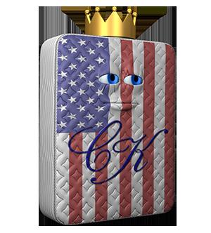 Comfort King Mattress Logo