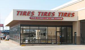 Tires Tires Tires exterior