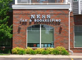 Ness Tax office - east side