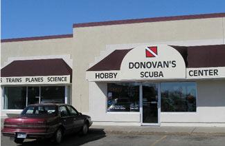 Donovan's Hobby & Scuba Center exterior