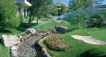 Lipetzky's sprinkler system