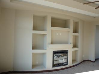 Davis Drywall interior project