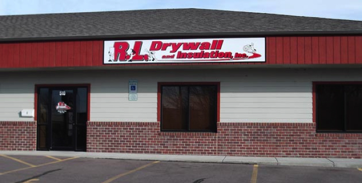 R.L. Drywall building