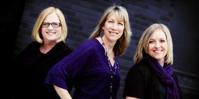 Melinda Heegel, Dr. Kristen Kaufman and Dr. Lindsey Koch
